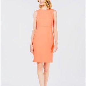Calvin Klein peach sheath dress size 10